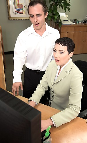 Mature Boss Porn Pictures
