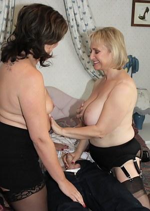 Mature FFM Porn Pictures