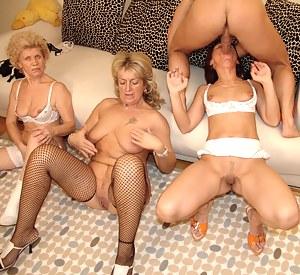 Mature Foursome Porn Pictures